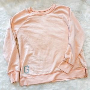 Aerie Coral Graphic Sweatshirt